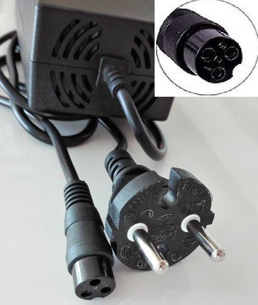 Elektrické koloběžky, elektrické tříkolky Nabíječka pro elektrické koloběžky Elektrické koloběžky, elektrické tříkolky