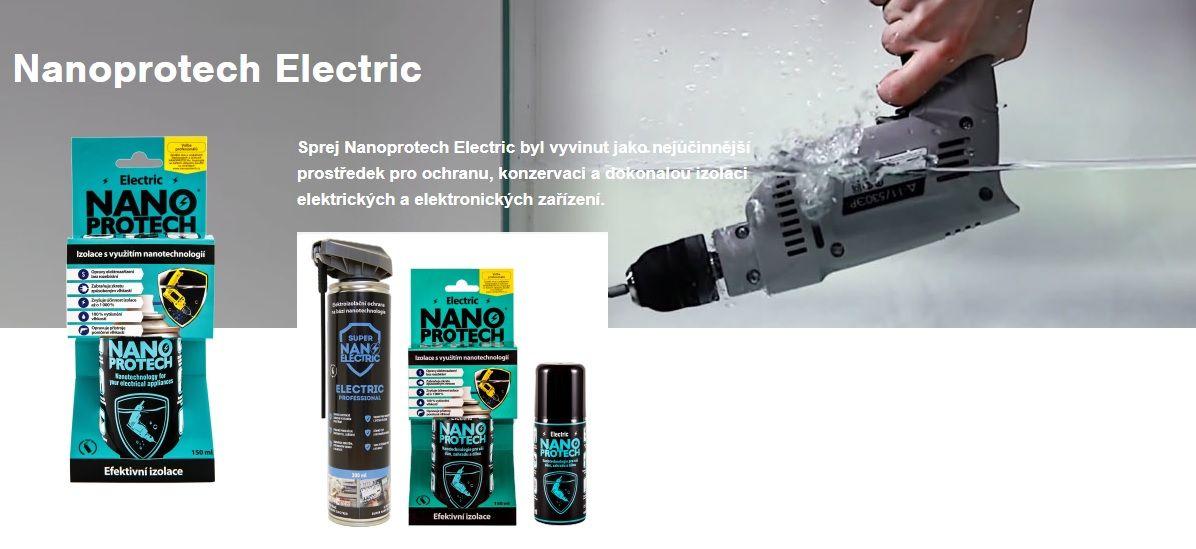 Elektrické koloběžky, elektrické tříkolky Nanoprotech Electric 150 ml. Elektrické koloběžky, elektrické tříkolky