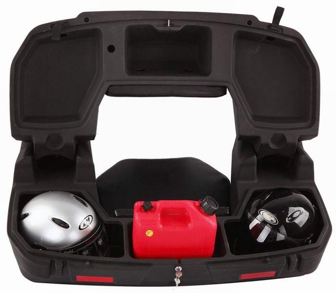 Elektrické koloběžky, elektrické tříkolky Zadní plastový box na tříkolku se sedačkou Elektrické koloběžky, elektrické tříkolky
