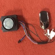 Elektrické koloběžky, elektrické tříkolky Bezpečnostní alarm El-ko na elektrickou koloběžku na dálkový zapnutí Elektrické koloběžky, elektrické tříkolky
