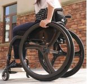 Elektrické koloběžky, elektrické tříkolky Invalidní vozík Wisking Karbonový Elektrické koloběžky, elektrické tříkolky