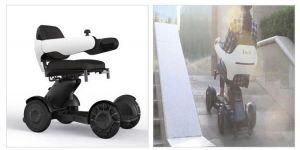 Elektrické koloběžky, elektrické tříkolky Lehký skládací elektrický invalidní vozík EL-KO Elektrické koloběžky, elektrické tříkolky