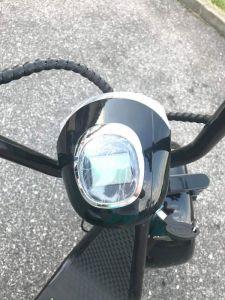 Elektrické koloběžky, elektrické tříkolky Přední světlo El-ko s digitálním displejem na elektrickou koloběžku Elektrické koloběžky, elektrické tříkolky