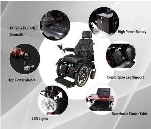 Elektrické koloběžky, elektrické tříkolky Vertikalizační elektrický polohovací vozík Elektrické koloběžky, elektrické tříkolky