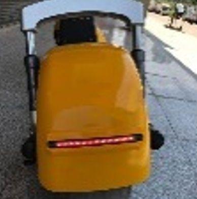 Elektrické koloběžky, elektrické tříkolky Zadní světlo pro elektrickou koloběžku El-ko b Elektrické koloběžky, elektrické tříkolky