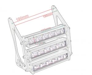 Elektrické koloběžky, elektrické tříkolky Agresivní přední led světlo pro elektrický skútr Elektrické koloběžky, elektrické tříkolky
