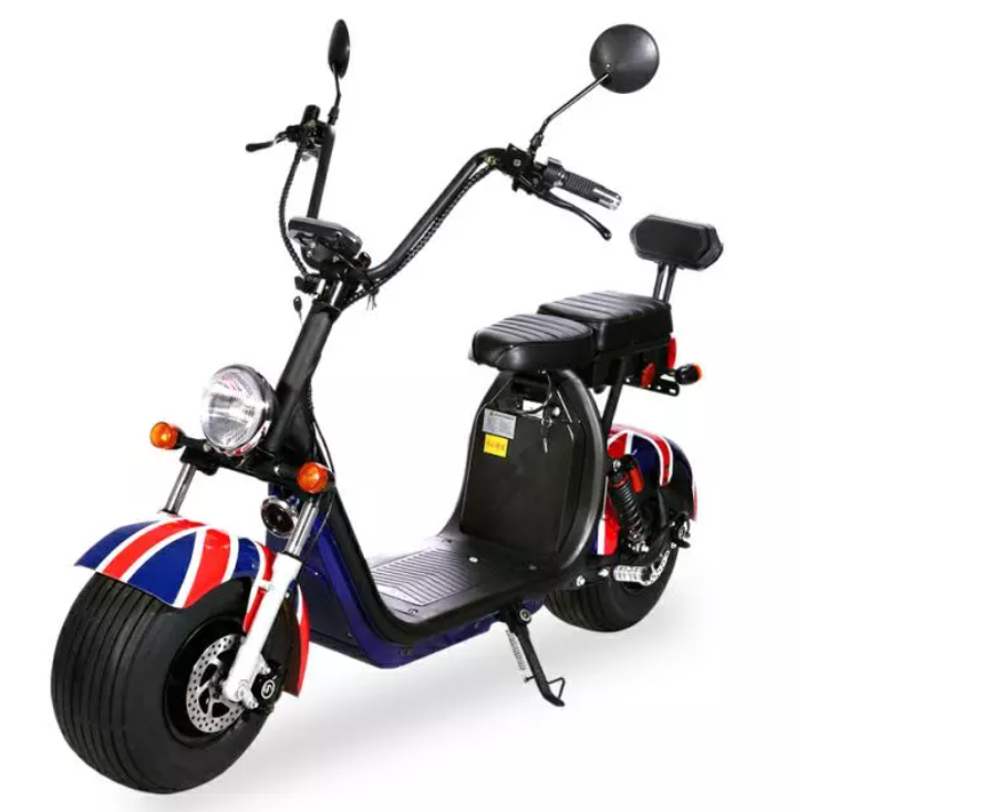 Elektrické koloběžky, elektrické tříkolky Sunway T-Max Chopper 2018 barva černa. Elektrické koloběžky, elektrické tříkolky