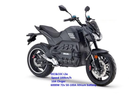 Elektrická motorka
