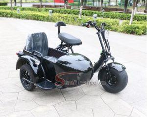 Elektrické koloběžky, elektrické tříkolky Elektrická tříkolka s bočním vozíkem 20 AH 2000 w dojezd 55 km Elektrické koloběžky, elektrické tříkolky