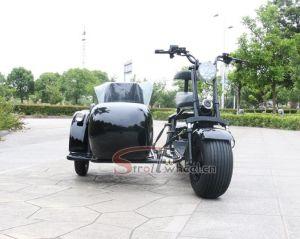 Elektrická tříkolka s bočním vozíkem  20 AH 2000 w dojezd 55 km