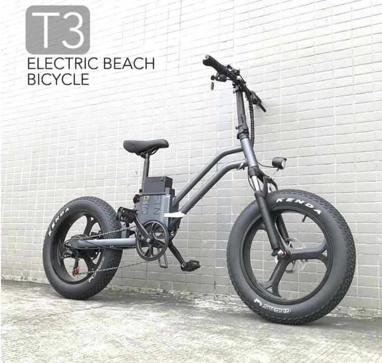 Elektrické koloběžky, elektrické tříkolky Elektrické kolo Tineiger 500 W 10 Ah terénní design dojezd 50 km Elektrické koloběžky, elektrické tříkolky