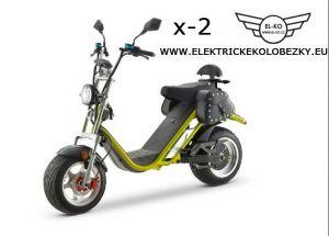 Elektrické koloběžky chooper city coco X-2 Sport  2100w 20Ah