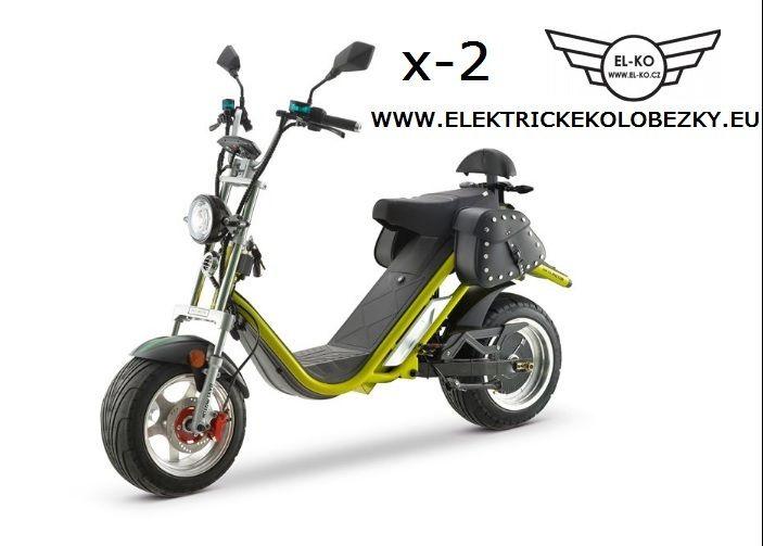Elektrické koloběžky, elektrické tříkolky Elektrické koloběžky chooper city coco X-2 Sport 2100w 20Ah Elektrické koloběžky, elektrické tříkolky