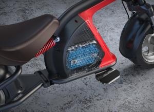 Elektrické koloběžky, elektrické tříkolky Elektrické koloběžky N-5 MAX Cross 20 Ah dojezd 80km Elektrické koloběžky, elektrické tříkolky