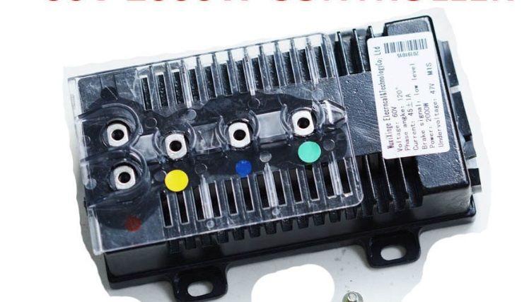 Elektrické koloběžky, elektrické tříkolky Řídicí jednotka nový typ pro elektrickou koloběžku 2000w 60v ( controller) Elektrické koloběžky, elektrické tříkolky