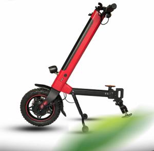 Přídavný pohon, elektrické kolo  pro invalidní vozík, Elektrický pohon invalidního vozíku EL-KO Red