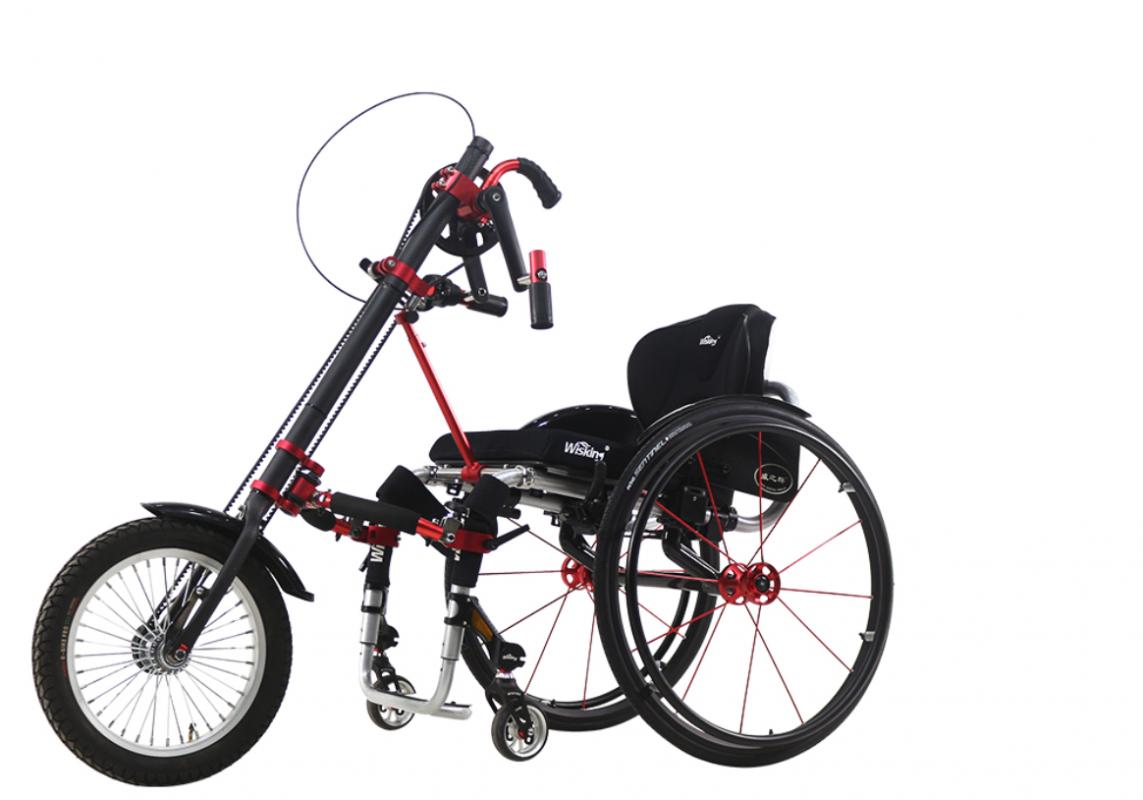 Elektrické koloběžky, elektrické tříkolky Manuální kolo pro invalidní vozík vozíku EL-KO III Elektrické koloběžky, elektrické tříkolky